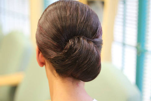 hair-styling-for-party-french-roll-for-party-from-kikis-body-care